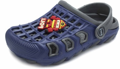 PHEDARUS Baby Boys Blue, Grey Sandals