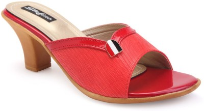 Stefino Women Red Heels