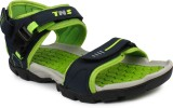 Tennis Men Grey::Green Sandals