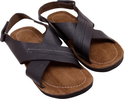 Ridhi Sidhi Men Black Sandals
