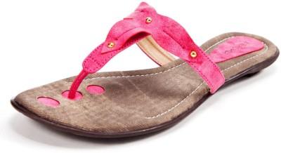 Beyond Women Pink Flats