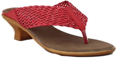 Trendy Enterprises Women Red Heels