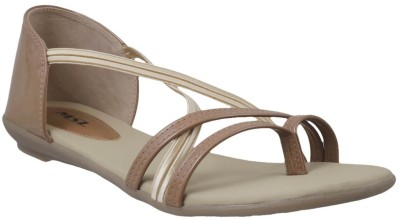 MSL Women Tan Flats