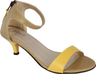 Fifi Women Yellow Heels