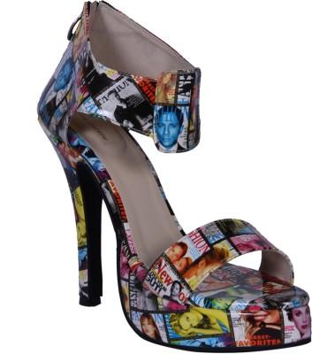 John Sparrow Women Multicolor Heels