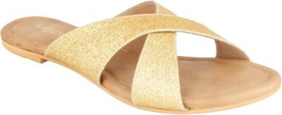 Legsway Women Gold Flats