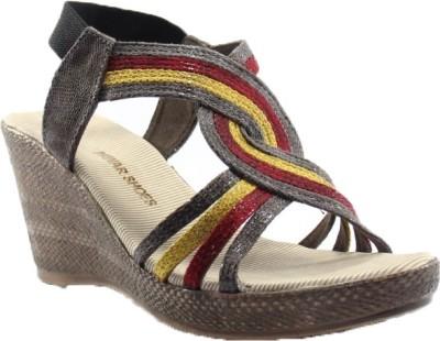 PAWAR Girls Multicolor Sandals