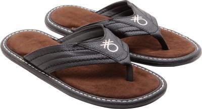 Ridhi Sidhi Men Black Sandals at flipkart