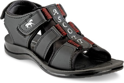 ASCOTT Men Black Sandals