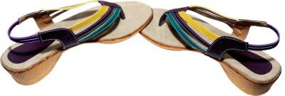 Avani Industries Women Beige, Brown Heels