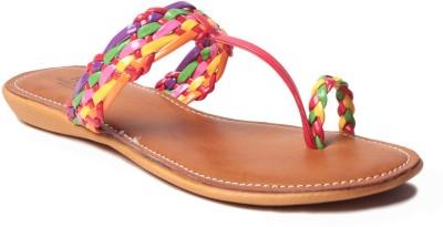 MSC Women Multicolor Flats