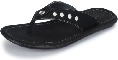 Nawaabs 2005 Men Black Flats