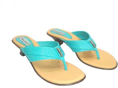 Foot Craft Women Blue Heels