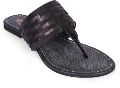 Zotti Women Black Flats