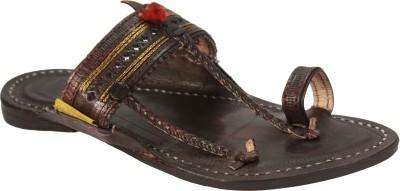 Paytaan Men Black Sandals