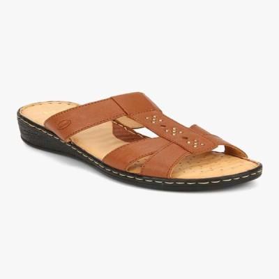 dr scholl Women Brown Flats