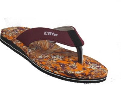 Elite Men Maroon Sandals
