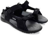 Puma Men black-steel gray Sports Sandals