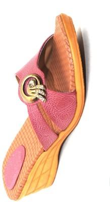 Angeela Women Pink Wedges