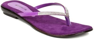 Kosher Klss028-Purpal Women Purple Flats
