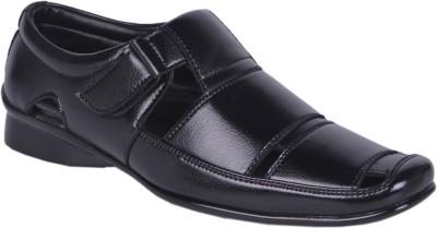 Faizan Men Black Sandals