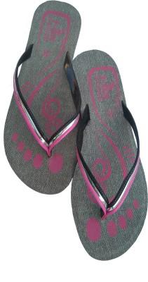 T-ON Girls, Women Pink, Grey Flats