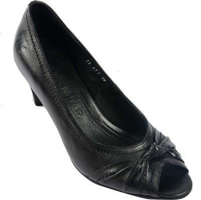Salt N Pepper 12-056 Helen Black Women Black Heels