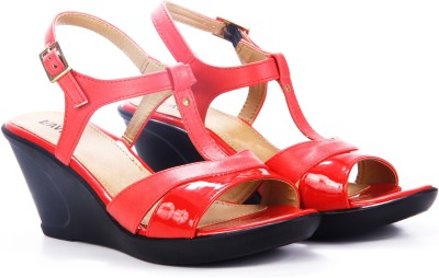 Lavie Women Red Wedges