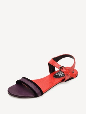 Chalk Studio Twin Popsicle Women Red, Purple Flats