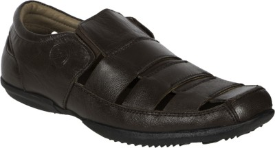 ROSA ROSSI Boys Brown Sandals