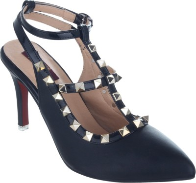 Sherrif Shoes Women Black Heels