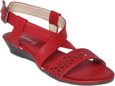 Dressberry Women Red Flats