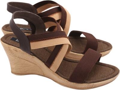 Regal Shoe Women Brown Wedges