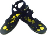Evok Men Yellow Sandals