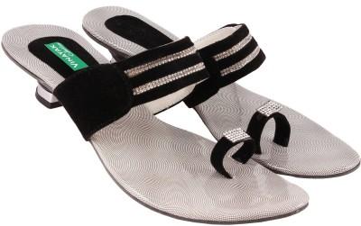 Vinayak Collection Women Black Heels