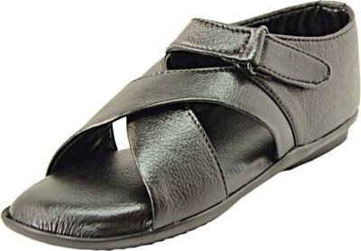Alleviater Men Black Sandals