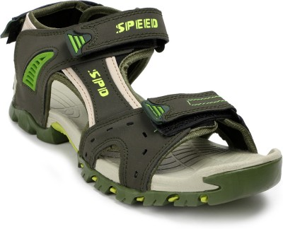 Speed Men Olive, Green Sandals