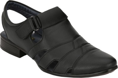 Magnolia Men Black Sandals