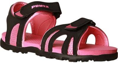 Power Women Pink Flats