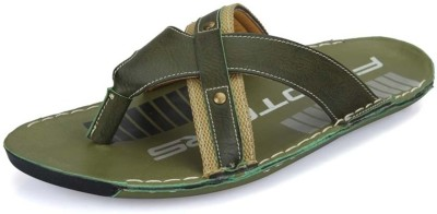 Nawaabs 1015 Men Green Flats