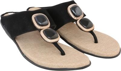 Allinyou Women Black Flats