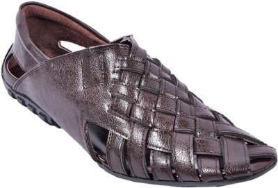 Wave Walk Men Brown Sandals