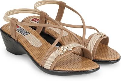 Agastya Women Brown Heels