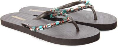 GoBahamas Women Red, Brown, Green Flats