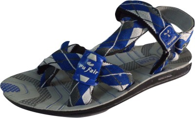 Pu Fair Men, Women Grey Sports Sandals