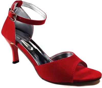 Plutos Women Red Heels