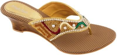 Mod-inn Women Gold Flats