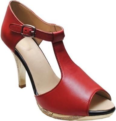 Bon Taff Girls Red Sandals