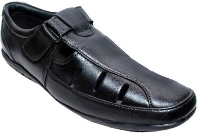 Bon Taff Men Black Flats