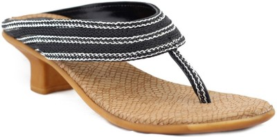Trendy Enterprises Women Black Heels